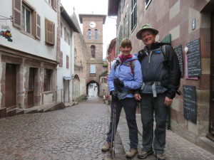 Starting the Camino from St Jean Pied de Port, France