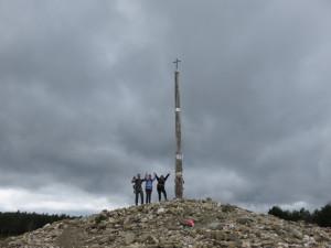 At La Cruz de Ferro