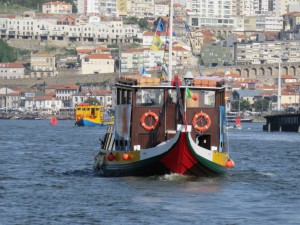 Boat on the Douro River, Porto