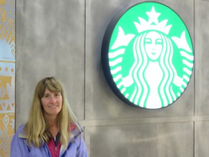 Laurie found the only Starbucks in Porto