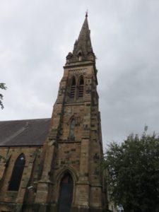 """Exterior of the """"Climbing Church"""""""