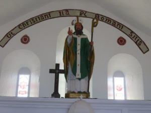 Inside the 1905 Chapel at the top