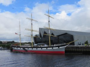 Tall Ship Glenlee, build in Glasgow 1896