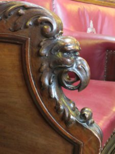 Glasgow City Chambers chair detail