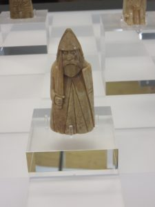 Carved Chessmen discovered on Lewis--of 12th Century Viking Origin