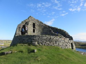 Stone fort (Broch) at Carloway