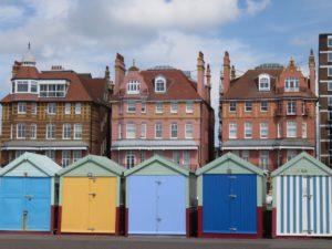 Brighton-Hove beach huts
