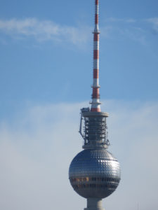 """The TV Tower with """"Pope's Revenge"""""""