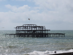 Ruins of the West Pier
